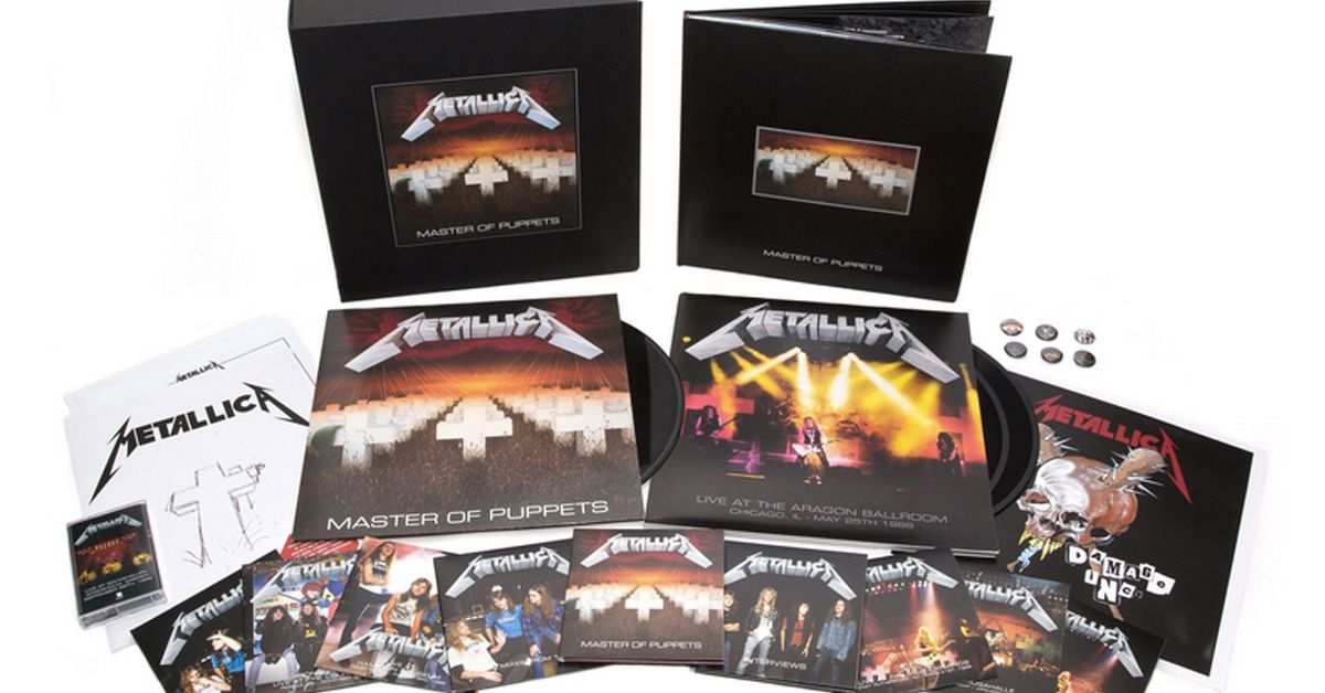 Master of Puppets / Deluxe box
