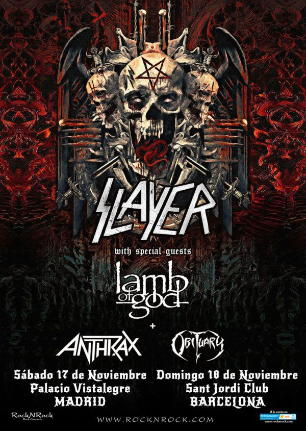 Slayer Tour2018