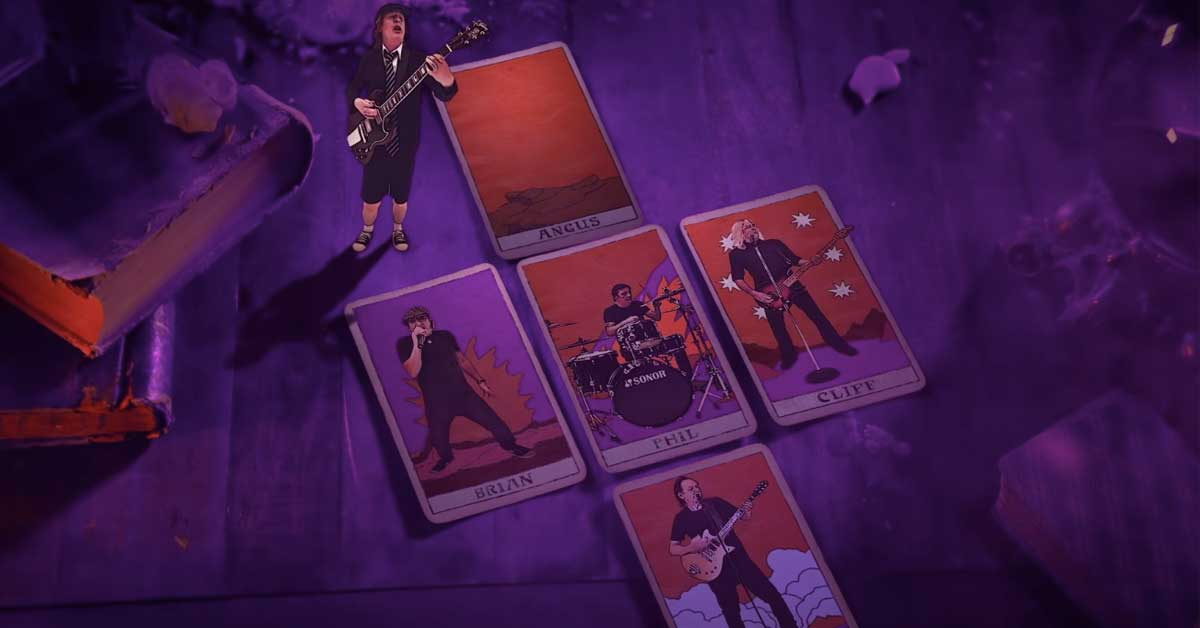 ac dc canción power up witch's spell